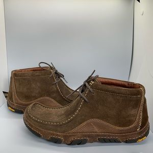 Vibram Suede leather mid  boots - NWOT